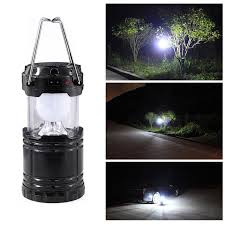 Solar Outdoor Lantern Lights - new collapsible solar outdoor rechargeable camping lantern light