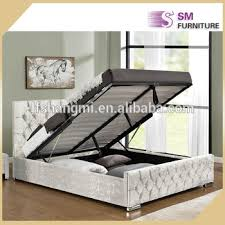 ottoman bed hydraulic lift up storage bed for bedroom furniture