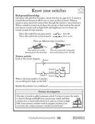 free printable science worksheets word lists and activities