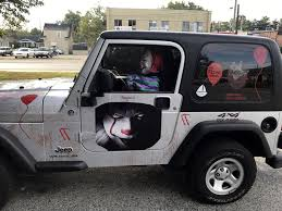 his and hers jeeps images louisville man turns heads with jeep rigged to look lik