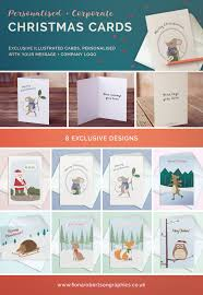 Design My Own Christmas Cards Personalised U0026 Corporate Christmas Cards Fiona Robertson Graphics