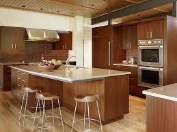 Wood Grain Laminate Cabinets Small Kitchen Wood Design Rectangle Transparent Plastic Flour
