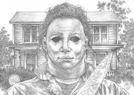 michael myers halloween night pencils by arttham on deviantart