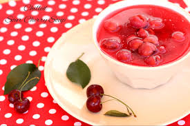 cuisine cherry foods of the hungary chilled sour cherry soup bark