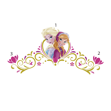 disney frozen spring time headboard wall decals wall sticker shop