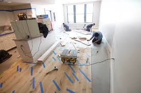 Laminate Or Engineered Flooring Glue Down Flooring Installation How To
