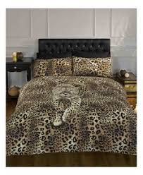 Low Price Duvet Covers Zebra And Leopard Print Double Reversible Duvet Cover Set Gives