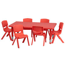 activity table and chairs daycare tables and preschool table and chair sets at daycare