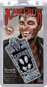 spirit halloween fangs werewolf fangs upper and lower on sale 26 95 reg 28 85 in