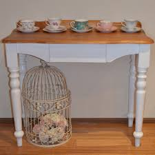 Shabby Chic Hall Table by Retro Vintage Love French Provincial Shabby Hall Table