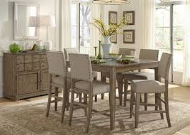 alluring counter height dining room table sets with dining room