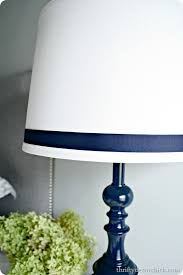 glossy navy blue love from thrifty decor