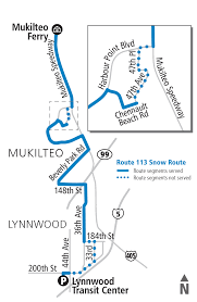 Seattle Public Transit Map by Schedules