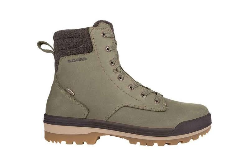 Lowa Oslo II GTX Mid Winter Boot Olive/Dark Brown 11 Medium 4105417893-OLVDBR-M110
