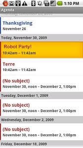 remove a calendar event droid by motorola verizon wireless