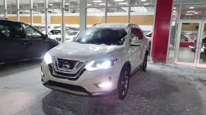 Nissan Rogue White - 2017 nissan rogue sl awd pearl white sherwood nissan youtube