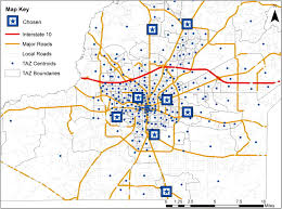 Interstate 10 Map Impacts Of Disrupted Road Networks In Siting Relief Facility