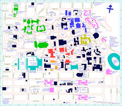 Mississippi State University Campus Map by Alfred Twu U0027s Tour Of Uc Berkeley