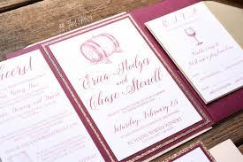 winery wedding invitations erica wine themed wedding invitation all that glitters invitations