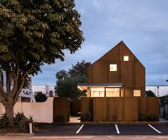 Compact Homes by Two Compact Homes Squeeze Into A Tiny Christchurch Site
