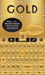 go keyboard theme apk gold go keyboard theme apk