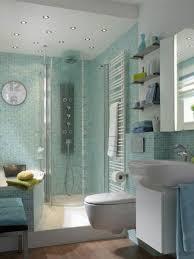 glamorous bathroom tiles with mosaic glass back splash in light