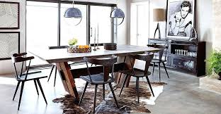 industrial dining room table industrial dining room furniture solid walnut slab dining table