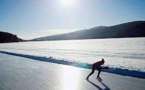 19 stunning natural ice skating rinks around the world travel
