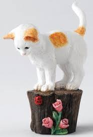 country artists cedar waxwing bird resin figurine few left
