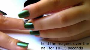 basic manicure and magnetic nail polish demo lacquer buzz youtube
