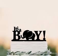 s cake topper 2017 it s a boy acrylic cake topper cake stand baby birthday cake