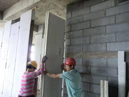 prefab foaming hollow core lightweight interior wall panels