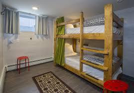 Two Floor Bed The Jasper Downtown Hostel Hosteling In Jasper Alberta