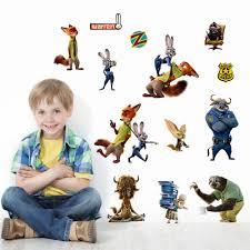 cartoon movie characters wall sticker wall decal home decor kids