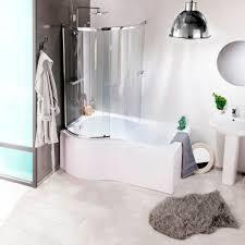L Shaped Shower Bath With Hinged Screen Shower Baths Walk In Corner D L U0026 P Shape Shower Bath Styles