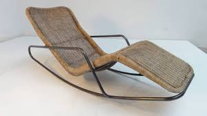 Modern Outdoor Rocking Chairs Rare 1950s Rocking Chaise Longues By Dirk Van Sliedrecht For Gebr
