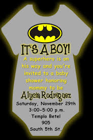 batman onesie baby shower invitation in 4x6 if you wish to order