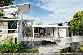 Contemporary Home Design Cool Tropical And Contemporary Home Design Completehome