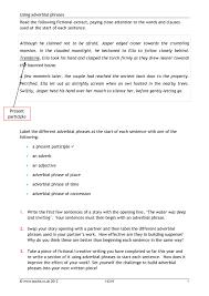 ks3 word classes teachit english