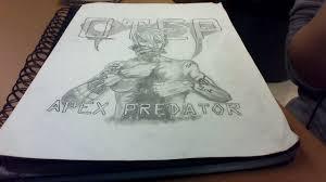 otep apex predator drawing jasminedavies 2017 feb 18 2016