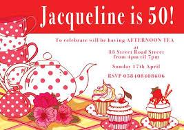 tea party birthday invitations u2013 frenchkitten net