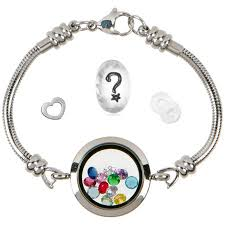 snake chain charm bracelet images Timeline treasures floating locket charm bracelets for women jpeg