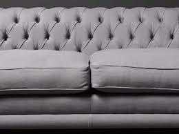 Linen Chesterfield Sofa by Kingston Linen Chesterfield Sofa