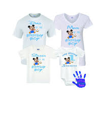 mickey mouse 1st birthday mickey mouse 1st birthday family shirts littlepersonaltouch
