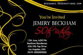 50th party invitation wording invitation ideas