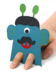 monster finger puppets pazzles craft room