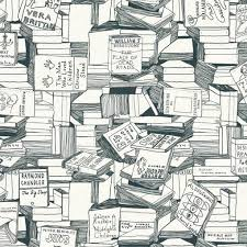 book wrapping paper books wrapping paper the literary gift company