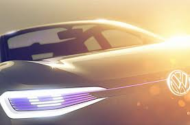 volkswagen i d crossover concept teased automobile magazine