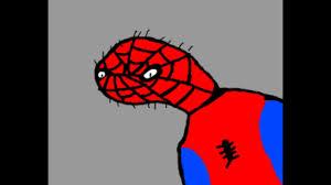 elsa farts spiderman face