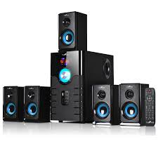 inflatable home theater system befree sound 97092796m 5 1 channel surround sound bluetooth